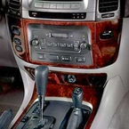 Toyota Land Cruiser Wood Dash Kit 2003-2007 by Acculaser Redwood Finish Genuine Toyota #PTS02-60030