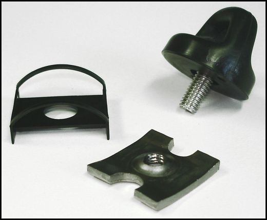 Toyota Matrix Pet Barrier Hold Down Knob Kit 2003-2008 4 Required Sold Individually Genuine Toyota #PT278-02010-HW