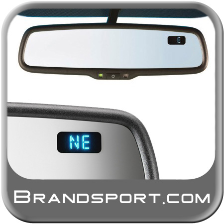 Subaru Auto Dimming Mirror 2000-2013 Rear View Mirror w/Compass Genuine Subaru #H501SFG200