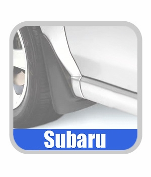 Subaru Impreza Mudflaps 2003 Dark Charcoal 4-piece Set Genuine Subaru #J1010FE230