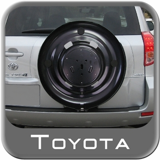 2004 2005 toyota rav4 spare tire cover mount mounts to. Black Bedroom Furniture Sets. Home Design Ideas