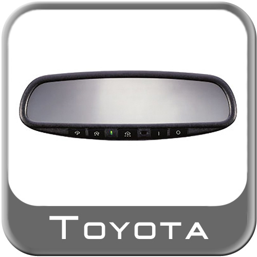 Toyota Prius Rear View Mirror 2004 2006 Auto Dimming W Homelink