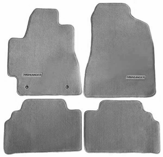 Toyota Highlander Seat Covers >> NEW! 2004-2007 Toyota Highlander Carpeted Floor Mats from Brandsport Auto Parts (#TOY-PT206 ...