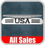 2004-2008 Ford F150 Truck Third Brake Light Cover Polished Aluminum Finish w/ USA Cutout Sold Individually All Sales #55504P