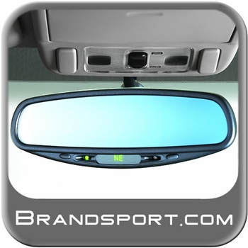 2004-2009 Subaru Auto Dimming Mirror Rear View Mirror w/Compass Genuine Subaru #H501SAG200