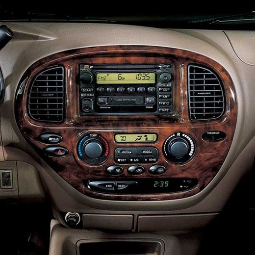 New 2005 2007 Toyota Sequoia Wood Dash Kit From