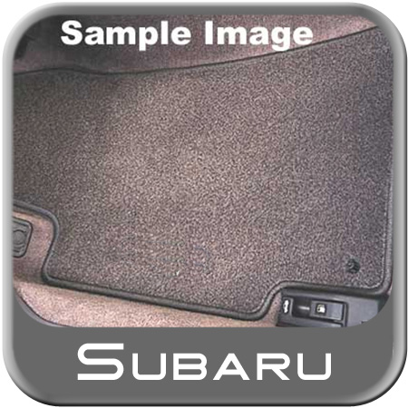 2005-2009 Subaru Legacy Carpeted Floor Mats Off Black 4-piece Set Genuine Subaru #J501SAG021