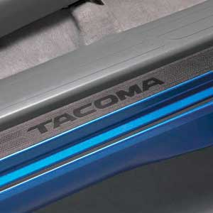 New 2005 2015 toyota tacoma door sill protectors from - 2013 toyota tacoma interior accessories ...