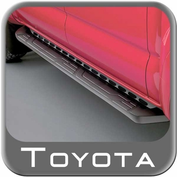 2005-2015 Toyota Tacoma Running Boards Black Complete Kit Genuine Toyota #PT212-35055
