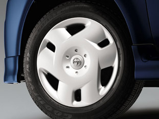 "Scion Wheel Cover 2003-2007 15"" 6-Spoke Twist Style Silver Alloy Look Sold Individually Genuine Toyota #08402-52802"