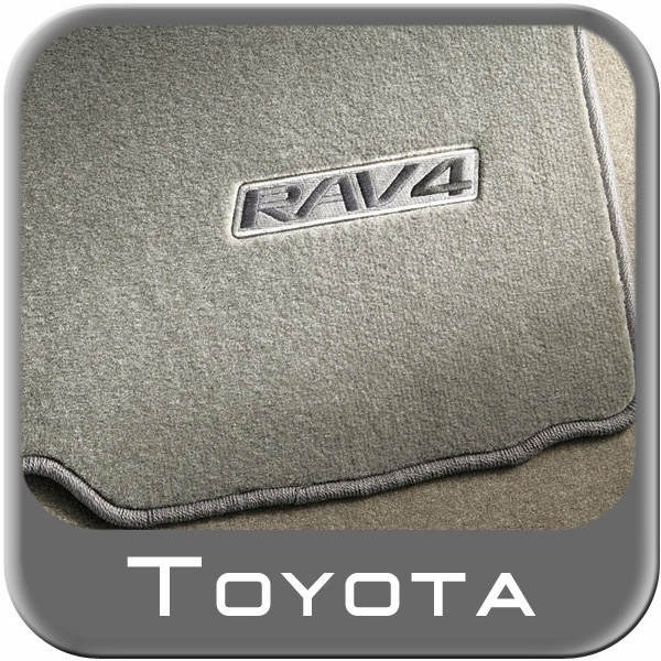 2009 2012 toyota rav4 carpeted floor mats sand beige w out. Black Bedroom Furniture Sets. Home Design Ideas
