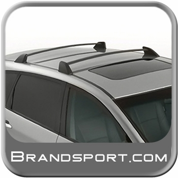 2006-2013 Subaru Tribeca Roof Rack Crossbar Set OEM Aero Crossbars (Wedge) Style Front and Rear Bars Genuine Subaru #E361SXA000