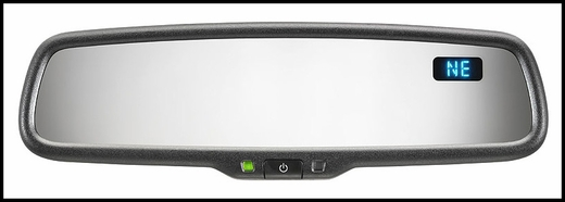 2006-2014 Subaru Tribeca Auto Dimming Mirror Rear View Mirror w/Compass Genuine Subaru #H501SXA100