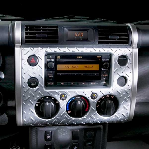New 2007 2010 toyota fj cruiser steel dash kit from brandsport auto parts toy pts10 35070 for Toyota fj cruiser interior accessories