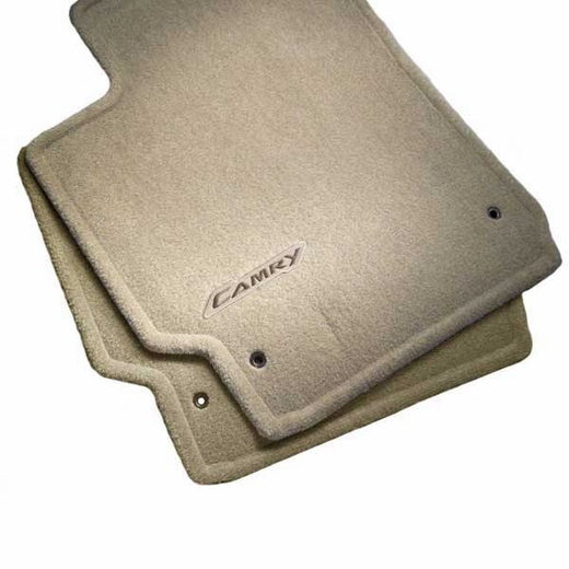 Toyota Camry Carpeted Floor Mats 2007 2017 Brown 4 Piece Set Genuine