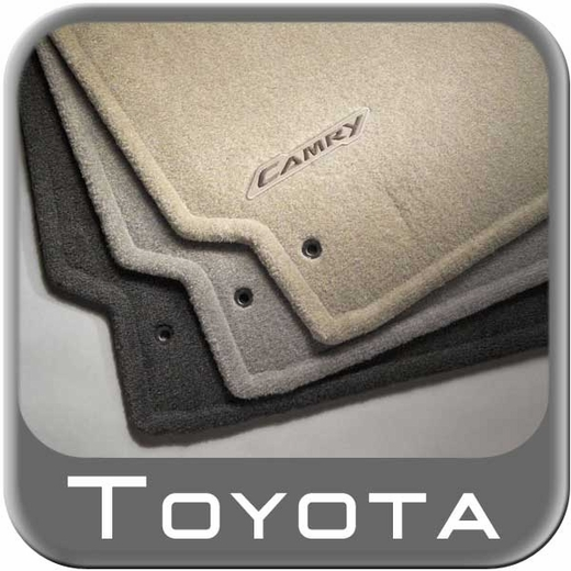 2007 2011 toyota camry floor mats carpeted 4 piece set dark charcoal. Black Bedroom Furniture Sets. Home Design Ideas
