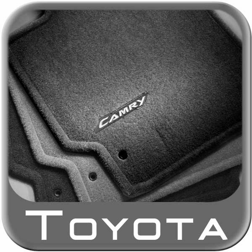 2007 2011 toyota camry carpeted floor mats light grey ash. Black Bedroom Furniture Sets. Home Design Ideas