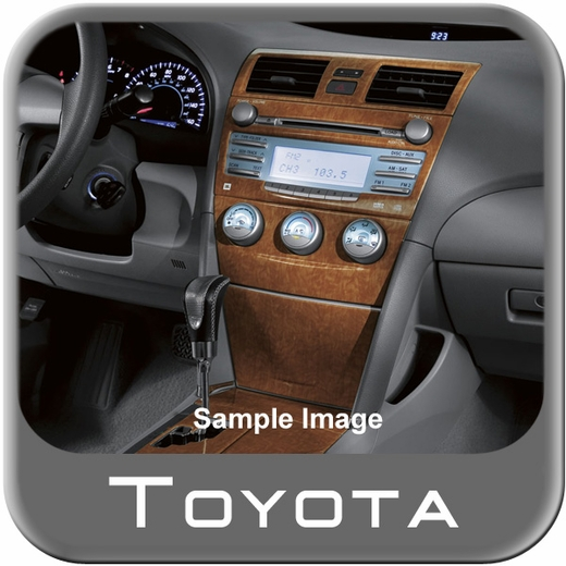 new 2008 2009 toyota camry le 6cyl auto wood dash kit. Black Bedroom Furniture Sets. Home Design Ideas