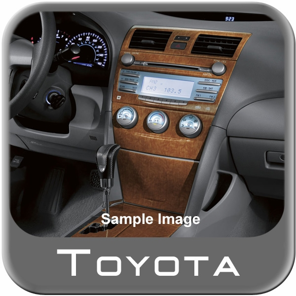 the best new 2010 toyota camry xle 6cyl auto wood dash kit from brandsport auto parts toy. Black Bedroom Furniture Sets. Home Design Ideas