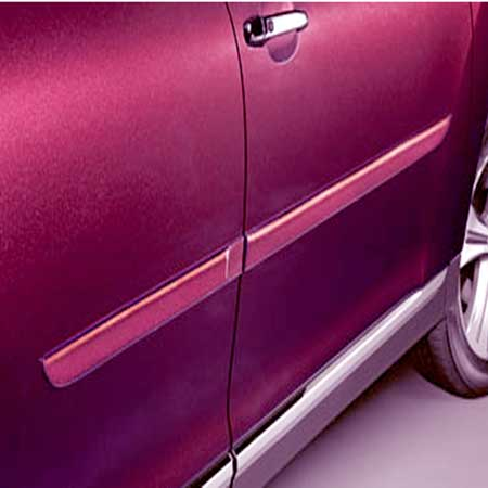 Toyota Highlander Body Side Moldings 2008-2010 Blue Streak Metallic (color code 8T7) Set of 4 Genuine Toyota #PT29A-48080-18