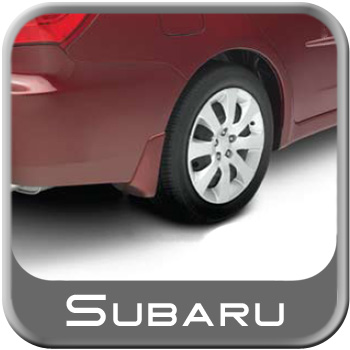 Subaru Impreza Mudflaps 2008-2011 Camellia Red Pearl 4-piece Set Genuine Subaru #J1010FG000RE
