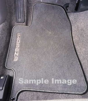 2008-2011 Subaru Impreza Outback Sport Carpeted Floor Mats Off Black 4-piece Set Genuine Subaru #J501SFG101JH