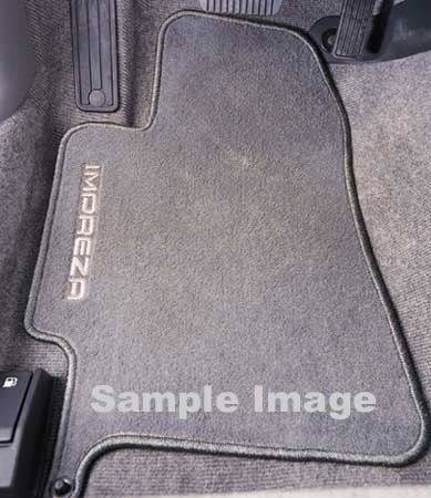 Subaru Impreza Carpeted Floor Mats 2008-2011 Outback Sport Off Black 4-piece Set Genuine Subaru #J501SFG101JH