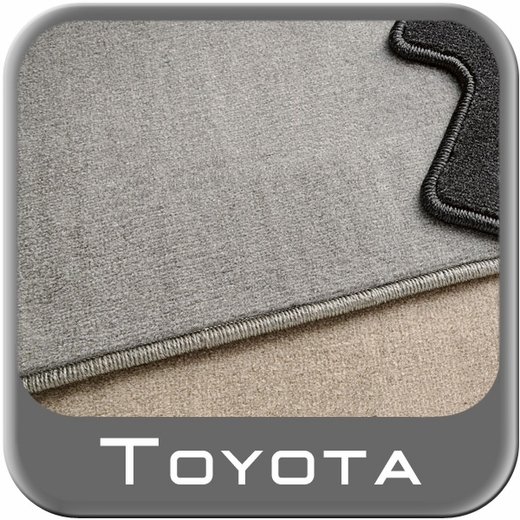 Toyota Highlander Carpeted Floor Mats 2008-2011 Hybrid Ash (Gray) 3rd Row Mat 1-Piece Genuine Toyota #PT919-48082-22