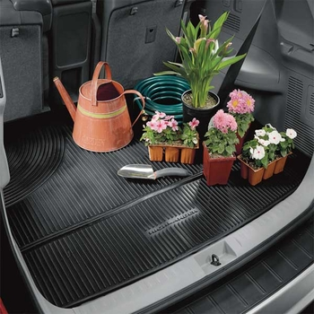 Toyota Highlander Cargo Mat 2008-2013 All Weather Style Surface Black Genuine Toyota #PT908-48084-02