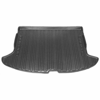 Subaru Impreza Cargo Mat 2008-2014 Rubber, All-Weather Style Off Black Color Genuine Subaru #J501SFG300JH