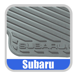 2008-2014 Subaru Rubber Floor Mats All-Weather Black 4-piece Set Genuine Subaru #J501SFG200