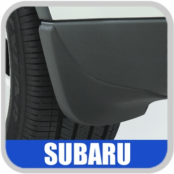 Subaru Tribeca Mudflaps 2008-2014 Front Pair Black Set of 2 Genuine Subaru #J101SXA001