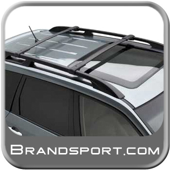 2008-2014 Subaru Tribeca Roof Rack Crossbar Set OEM Aero Crossbars (Wedge) Style Front and Rear Cross Bars for Limited models only Genuine Subaru #E361SXA400