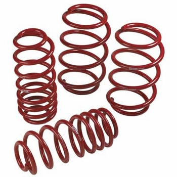 Scion xB Lowering Springs 2008-2015 Steel Spring Set TRD Performance Suspension Red Powder-coated Set of 4 Genuine Toyota #PTR07-52080
