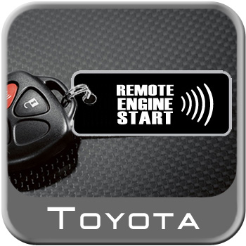 2009-2010 Toyota Corolla Remote Engine Starter Kit Complete Kit Genuine Toyota #PT398-02080