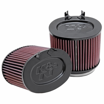 2009-2012 Porsche 911 Replacement Air Filter Set of 2 K&N #E-1999