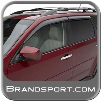 Subaru Forester Rain Guards/Wind Deflectors 2009-2013 Smoke Acrylic 4-piece Set Genuine Subaru #E3610SC200