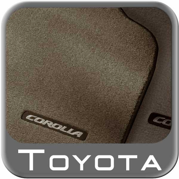 2003 2008 toyota corolla carpeted floor mats dark gray. Black Bedroom Furniture Sets. Home Design Ideas