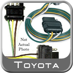 toyota corolla rear spoiler wiring harness 2009-2013 genuine toyota  #pt47a-02090-
