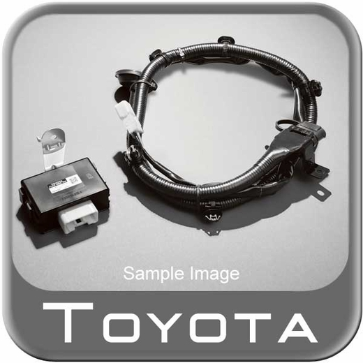 New toyota venza towing wire harness from