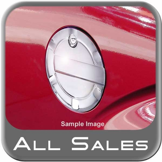 2009-2014 Ford F150 Truck Fuel Door Locking Style Billet Aluminum, Striker Style Chrome Locking Sold Individually All Sales #6059CL