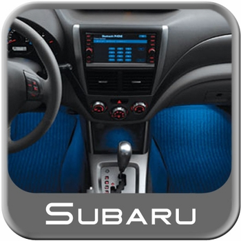 2009-2014 Subaru Interior Light Kit Footwell Illumination (Blue) Genuine Subaru #H201SSC000