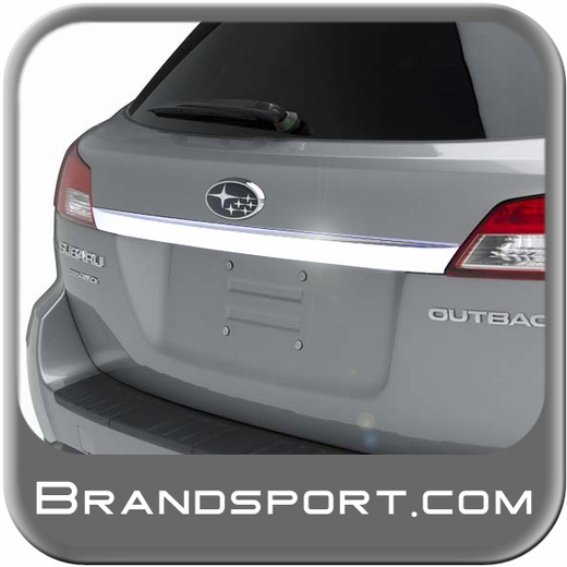 Subaru Outback Rear Gate Chrome Trim 2010-2011 Genuine Subaru #J1210AJ020