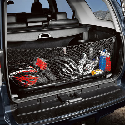 Toyota 4Runner Cargo Net 2010-2018 Envelope / Pocket Style Black with 3rd Row Seating Sold Individually Genuine Toyota #PT347-89102