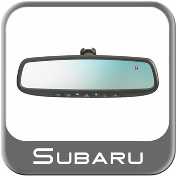Subaru Auto Dimming Mirror 2010-2016 Rear View Mirror w/Compass & Homelink Genuine Subaru #H501SFJ101