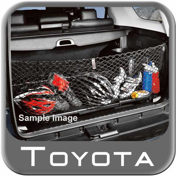 new 2003 2009 toyota 4runner cargo net from brandsport. Black Bedroom Furniture Sets. Home Design Ideas