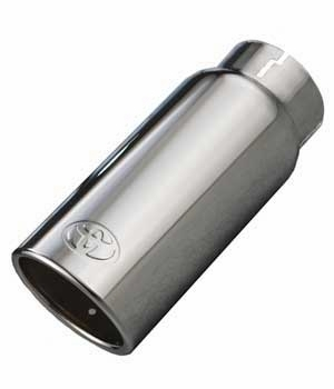 2010-2018 Toyota 4Runner Exhaust Tip Polished Stainless Steel Sold Individually Genuine Toyota #PT932-89100