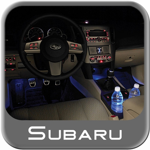 Subaru Interior Illumination Kit 2010 Blue Genuine Subaru #H7010AJ000