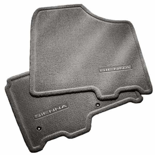 new 2011 2012 toyota sienna carpeted floor mats from brandsport auto parts toy pt206 08128 13. Black Bedroom Furniture Sets. Home Design Ideas