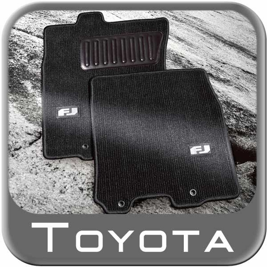 2011 2014 toyota fj cruiser carpeted floor mats dark charcoal. Black Bedroom Furniture Sets. Home Design Ideas